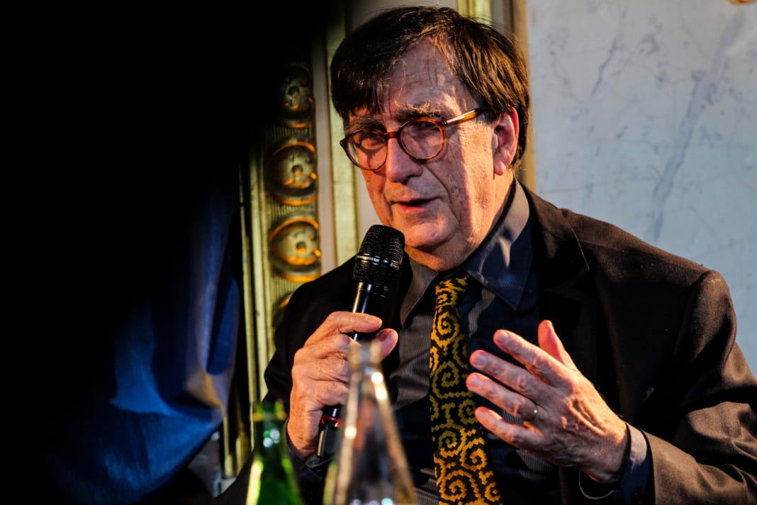 Bruno Latour tijdens de Nuit des Idées